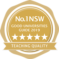 Good Universities Guide Five Star Seal for Teaching Quality
