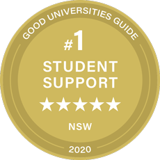 5 stars in teaching quality good universities guide seal